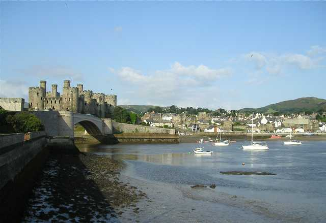 Conwy -The Walled Town